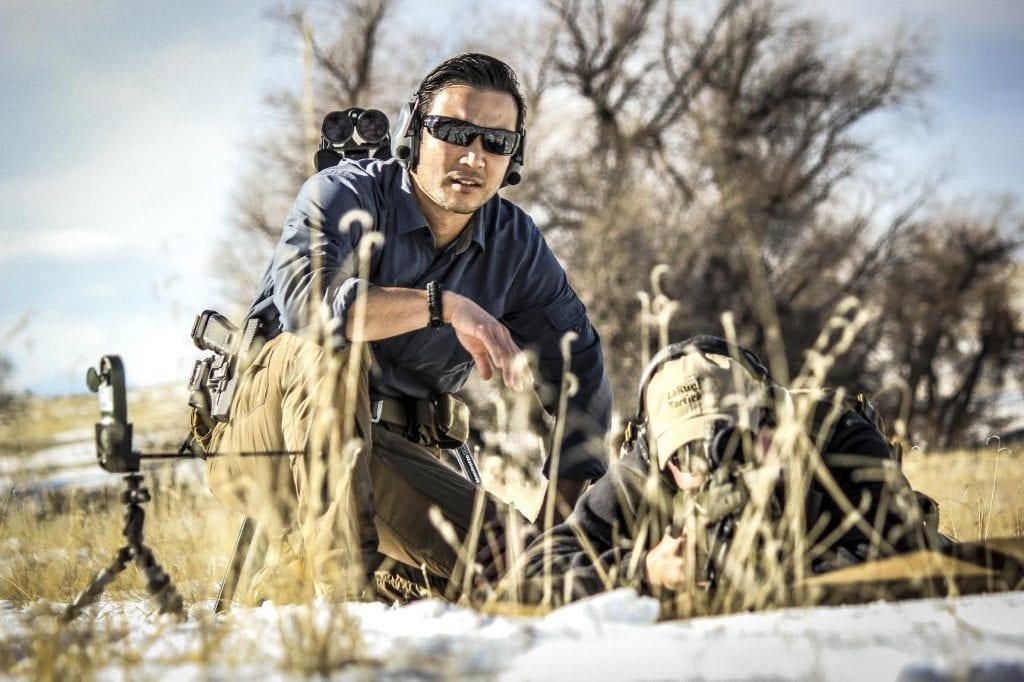 scope mounting, scope, AR, AR Build, class, student, shooting, indoor range, guns, rifle