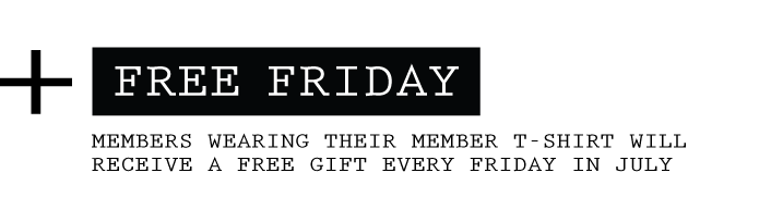 Free Friday - Member Appreciation