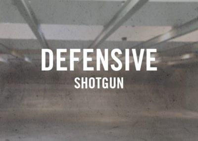 Defensive Shotgun