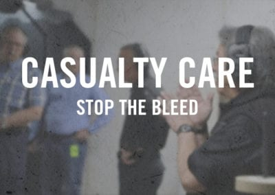 Casualty Care – Stop the Bleed