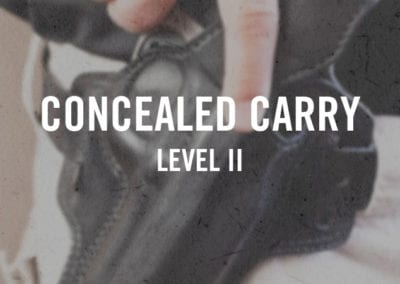 Concealed Carry Level II