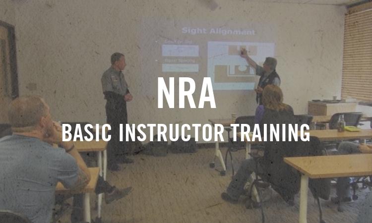NRA Basic Instructor