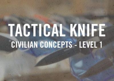 Tactical Knife – Civilian Concepts Level I