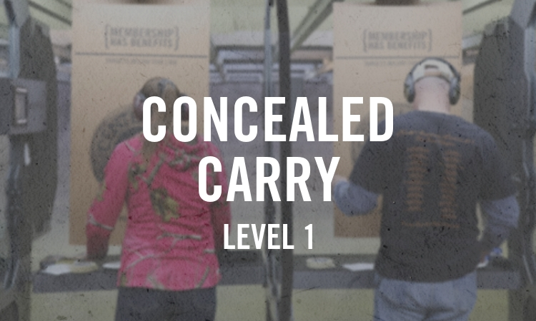 Concealed Carry Level 1