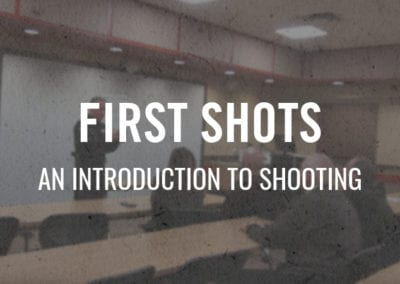 First Shots – An Introduction to Shooting