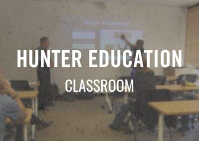 Hunter Education – Classroom