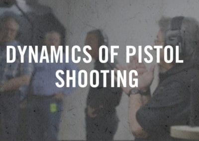 Dynamics of Pistol Shooting
