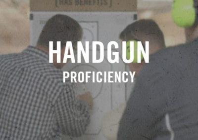 Handgun Proficiency