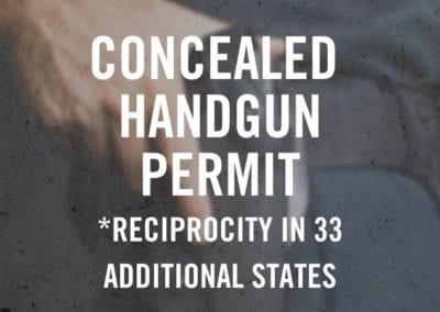 Concealed Handgun Permit – Old