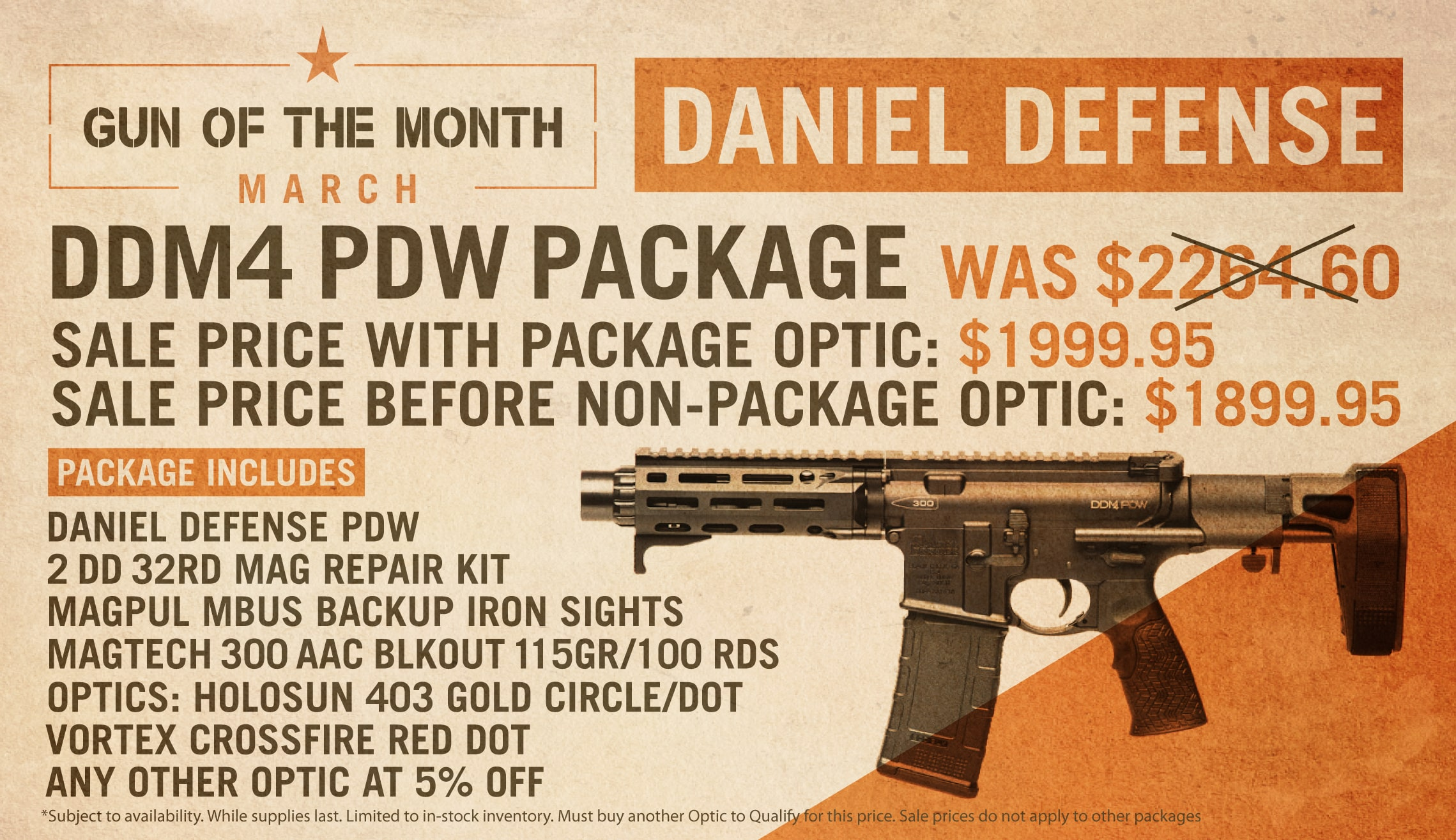Gun of the Month March 2020